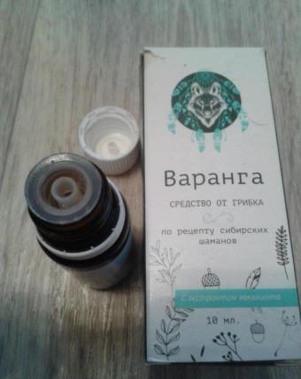 Варанга - средство от грибка