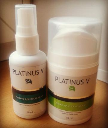 Platinus V Professional - засіб для росту волосся