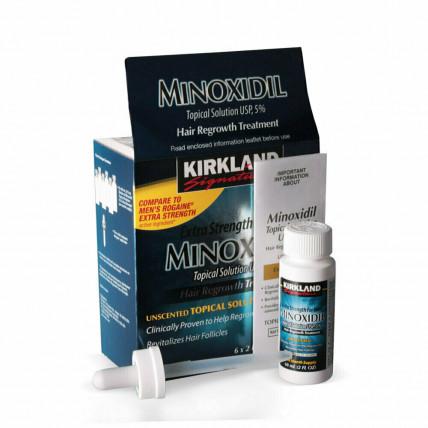 MINOXIDIL (Миноксидил) - средство для роста бороды