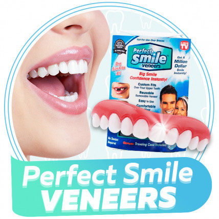 Perfect Smile Veneers - средство для отбеливания зубов