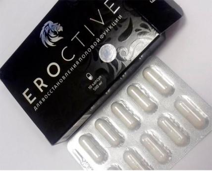Eroctive (Эроктив) - капсулы для потенции