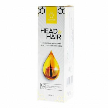 Head and Hair - масляный комплекс для волос