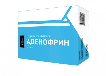 Аденофрин - средство от простатита