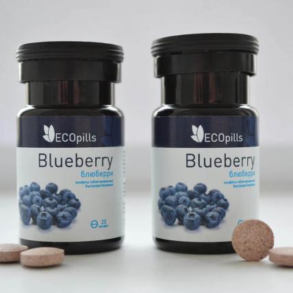 Eco Pills Blueberry - засіб для очей