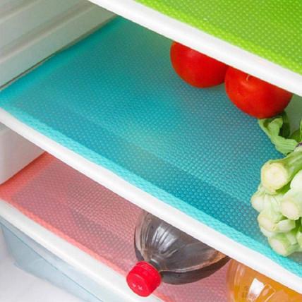 Набор силиконовых ковриков в холодильник