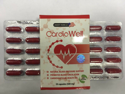 CardioWell (Кардио Велл) - препарат от повышенного давления