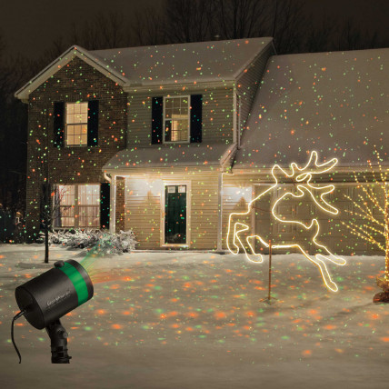 Лазерный проектор рождества STAR SHOWER