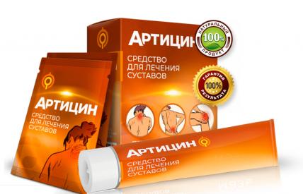 Artitsin (Артистин) - средство для суставов