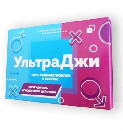 УльтраДжи - возбуждающие капсулы для женщин