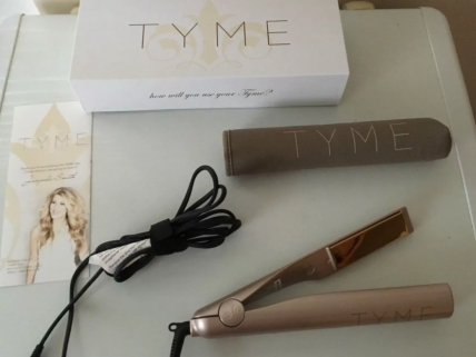 LEARNING THE TYME IRON - утюжок для локон