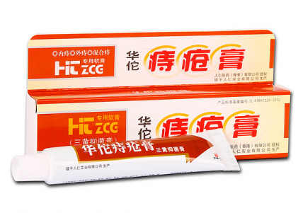 Китайська червона мазь від геморою