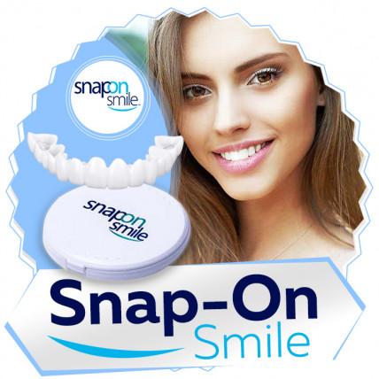 SNAP-ON SMILE - съемные виниры для красивой улыбки