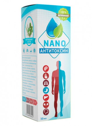 Anti Toxin Nano - капли против паразитов