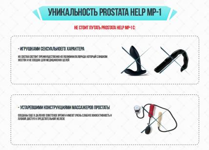 Prostata Help MP (Простата Хелп) - засіб від простатиту