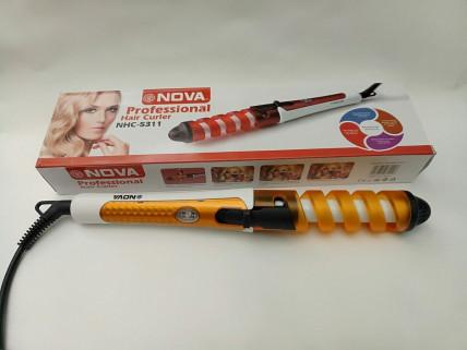 Спиральная плойка для волос NOVA
