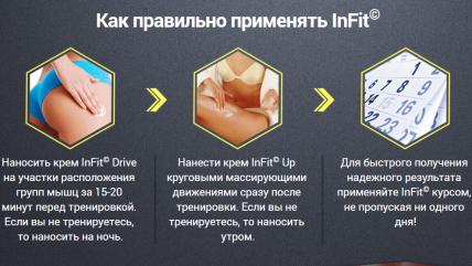 InFit (ИнФит) - комплекс для быстрого создания шикарной фигуры