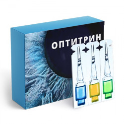 Оптитрин - средство для зрения
