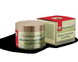 Целебная мазь Монастырская травница от остеохондроза
