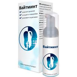 WhiteMint - пенка для отбеливания зубов