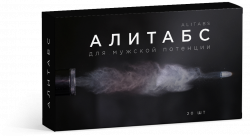 АЛИТАБС - средство для повышения потенции
